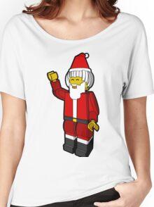 Lego Toys Santa Christmas Noel Hanukkah Holiday Gift  Women's Relaxed Fit T-Shirt