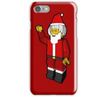 Lego Toys Santa Christmas Noel Hanukkah Holiday Gift  iPhone Case/Skin