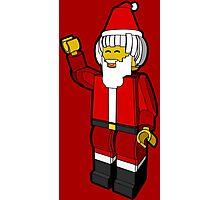 Lego Toys Santa Christmas Noel Hanukkah Holiday Gift  Photographic Print
