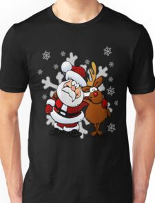 Cute Holiday Shirt, Santa Claus  Unisex T-Shirt