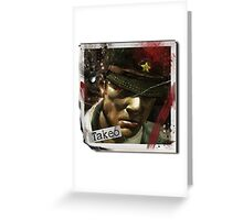 Takeo Nazi zombies Greeting Card