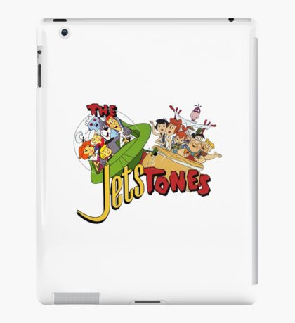 The Jetsons vs The Flintstones iPad Case/Skin
