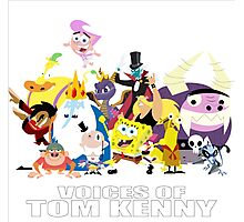 Voices of Tom Kenny Photographic Print