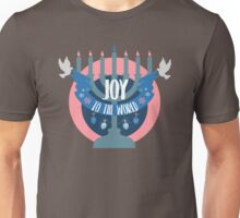 Joy to the World (Hanukkah Version) Unisex T-Shirt