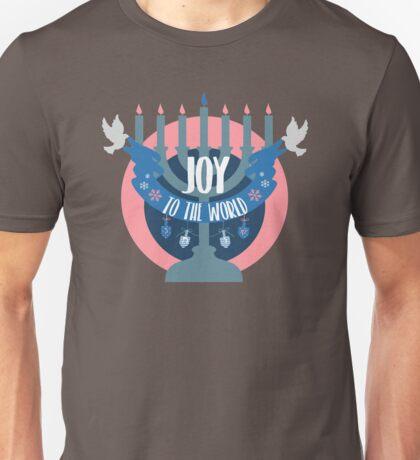 Joy to the World (Hanukkah Version) Unisex T-Shirt