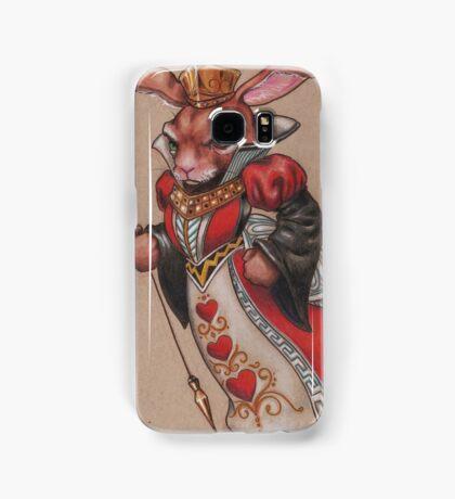 Queen of Hearts Rabbit Samsung Galaxy Case/Skin