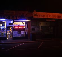 All Quiet On The Shop Front by MichaelCouacaud