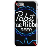 Pabst Blue Ribbon - Beer iPhone Case/Skin