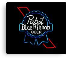 Pabst Blue Ribbon - Beer Canvas Print