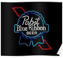 Pabst Blue Ribbon - Beer Poster