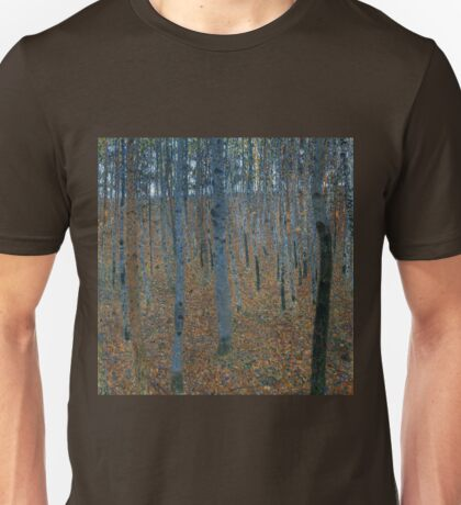 Gustav Klimt Beech Grove Unisex T-Shirt