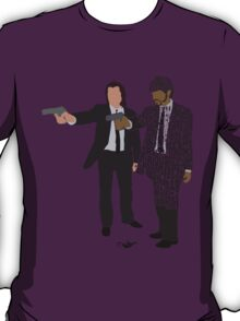 Jules and Vincent from Pulp Fiction Typography Quote Design T-Shirt