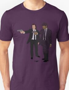 Jules and Vincent from Pulp Fiction Typography Quote Design Unisex T-Shirt