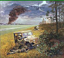 MEMORIES FROM VIETNAM:    AC130A  'SPECTRE'  gunship. by Kricket-Kountry