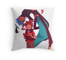 Dipper and Human Bill Throw Pillow