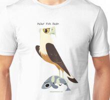 Pallas' Fish Eagle caricature Unisex T-Shirt
