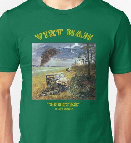 MEMORIES FROM VIETNAM:    AC130A  'SPECTRE'  gunship. Unisex T-Shirt