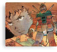 Mobile Suit Gundam Canvas Print