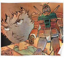Mobile Suit Gundam Poster