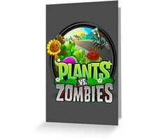 Plants VS Zombies Greeting Card