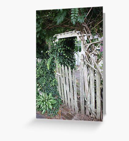 gated Greeting Card