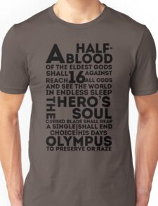 Percy Jackson and the Olympians - The Great Prophecy  T-Shirt
