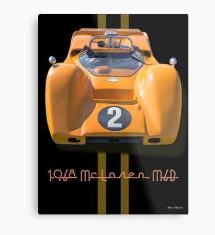 1968 McLaren M6B Can Am Race Car Metal Print
