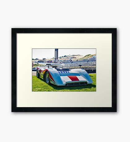 1970 McLaren M8C Can Am Race Car Framed Print