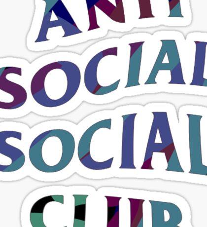 ANTI SOCIAL SOCIAL CLUB CAMO COLOUR Sticker