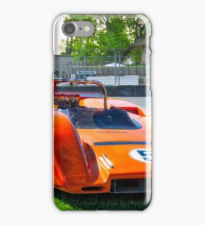 1971 McLaren MBE 80-03A Can Am Race Car iPhone Case/Skin