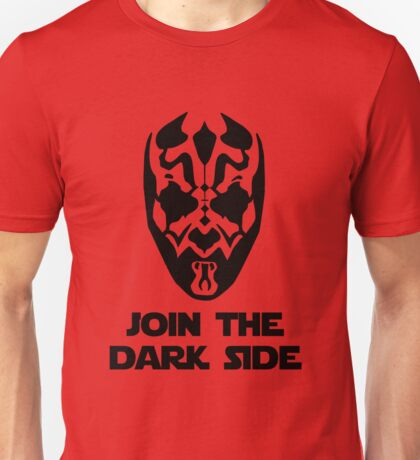 Darth Maul - with text Unisex T-Shirt