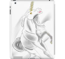 Birthstone Unicorns: April, Diamond iPad Case/Skin