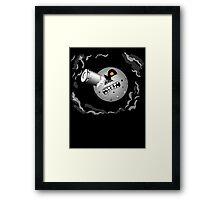 Melies Shot Majora's Moon Framed Print