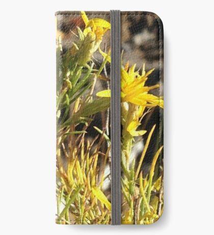 Wild Flower iPhone Wallet/Case/Skin