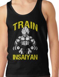 TRAIN INSAIYAN - Vegeta Holding Dumbbells Tank Top