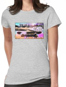Skate is Art Womens Fitted T-Shirt