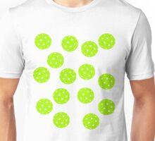 Green Pickleballs Everywhere Shirt Unisex T-Shirt