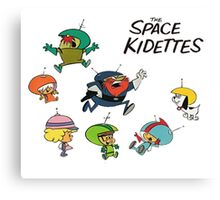 The Space Kidettes Canvas Print