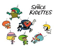 The Space Kidettes Photographic Print