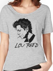Lou Reed (Black) Women's Relaxed Fit T-Shirt