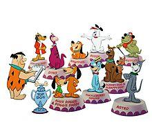 Hanna-Barbera Dog Training Photographic Print