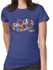 Hanna-Barbera Dog Training Womens Fitted T-Shirt