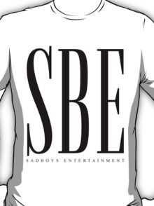 SBE - Sadboys Entertainment Black T-Shirt
