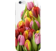 Beautiful Tulip Flowers iPhone Case/Skin