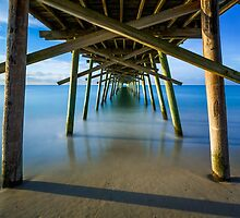 Beneath the Fishing Pier by Kenneth Keifer