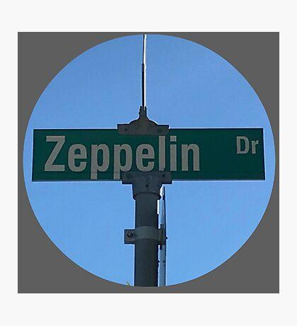 Zeppelin Drive Photographic Print