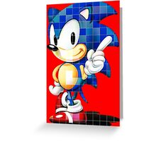 Sonic the Hedgehog (Sega) Greeting Card