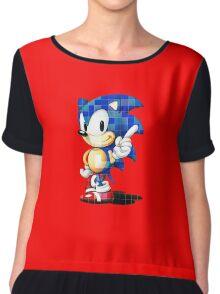 Sonic the Hedgehog (Sega) Chiffon Top