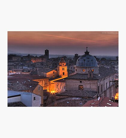 LANCIANO Photographic Print