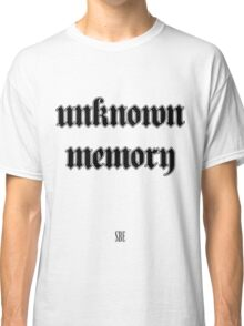 Unknown Memory (SBE) Black Classic T-Shirt